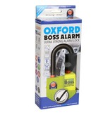 Oxford Schijfremslot ART-4 MBT 4075 Geel/zwart Alarm