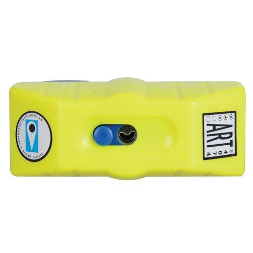 Oxford Hangslot ART-4 MBT 4075 Geel/zwart Alarm