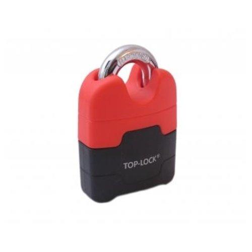 Top Lock Hangslot ART-4 MBT 4162 zwart/rood
