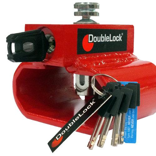 DoubleLock Triangle Lock RED SCM