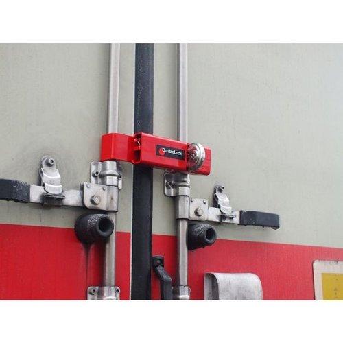 DoubleLock Trailer Lock RED Medium