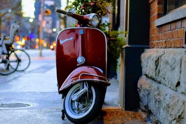 Dit slot heb je nodig voor een scooter verzekering