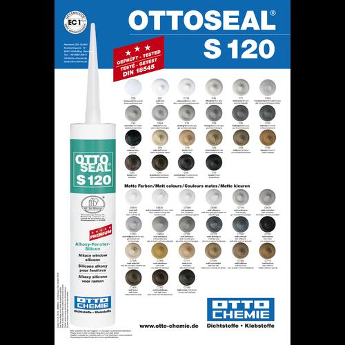 OTTO Ottoseal S120 Kleurenkaart