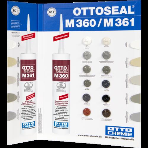OTTO Ottoseal M360 kleurenkaart