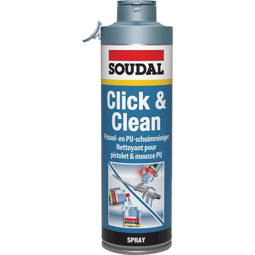 Soudal PU Click en Clean 500ml