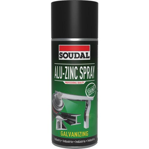 Soudal Alu - Zinc Spray 400ml