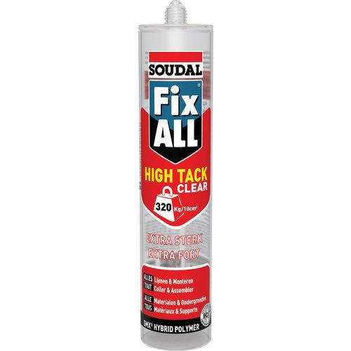 Soudal Soudal Fix ALL High Tack Clear 290ml