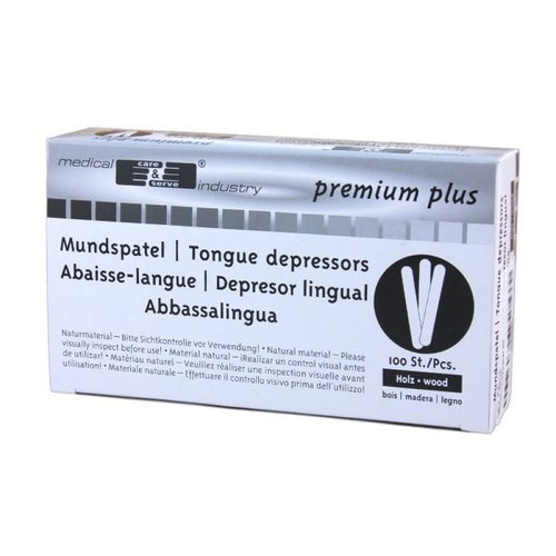 Tongspatels Premium Plus 100 stuks