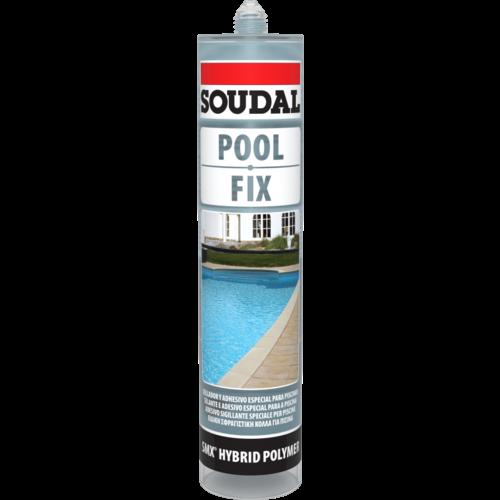 Soudal Pool Fix Crystal 290ml