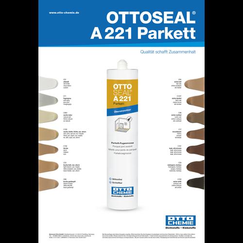 OTTO Ottoseal A221 Parkett Kleurenkaart