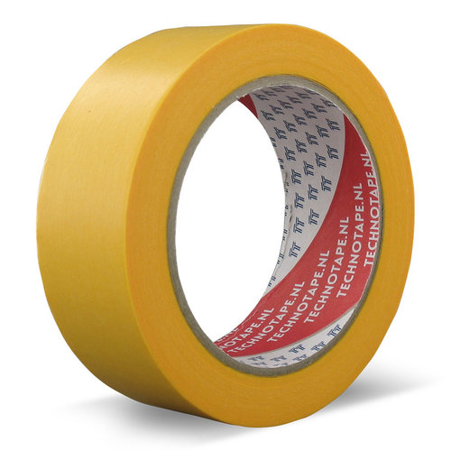 Technotape Masking tape Washi Fineline Pro Gold 50mmx50mtr