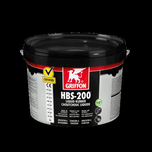 Griffon HBS-200 Liquid Rubber Emmer 5 liter