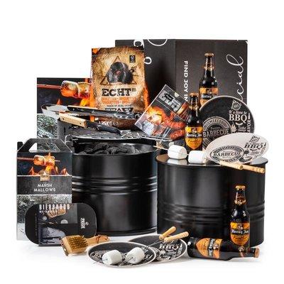 Kerstpakket BBQ Barrel