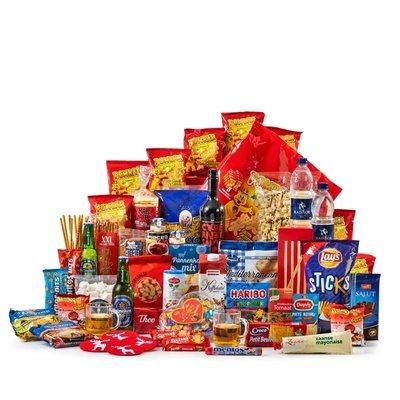 Kerstpakket Groot in Rood & Blauw