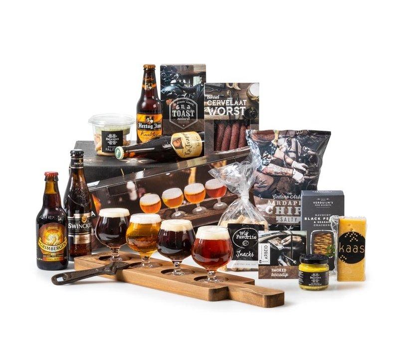 Kerstpakket Bierproeverij - 21%