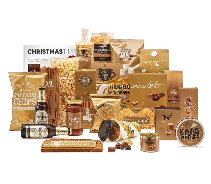 Kerstpakket Gouden pracht - 9%