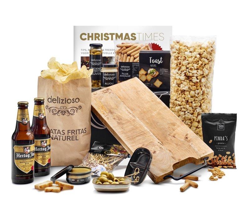Kerstpakket Happen van de plank - 9%
