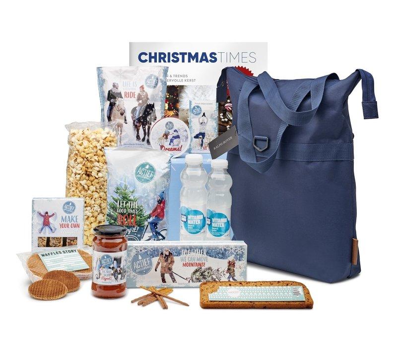 Kerstpakket Actief genieten - 21%