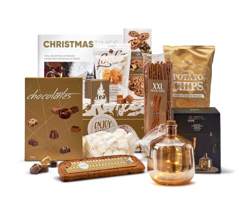 Kerstpakket Golden light