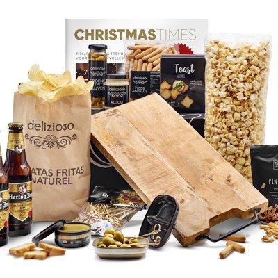 Kerstpakket Happen van de plank