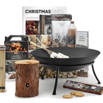 Kerstpakket In vuur en vlam