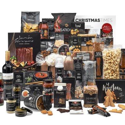 Kerstpakket Groots zwart