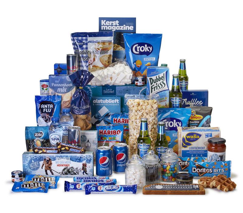 Kerstpakket Bijzonder blauw