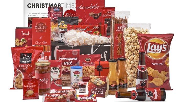 Snoep & Chocolade kerstpakket