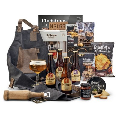 Kerstpakket Bier op een rij