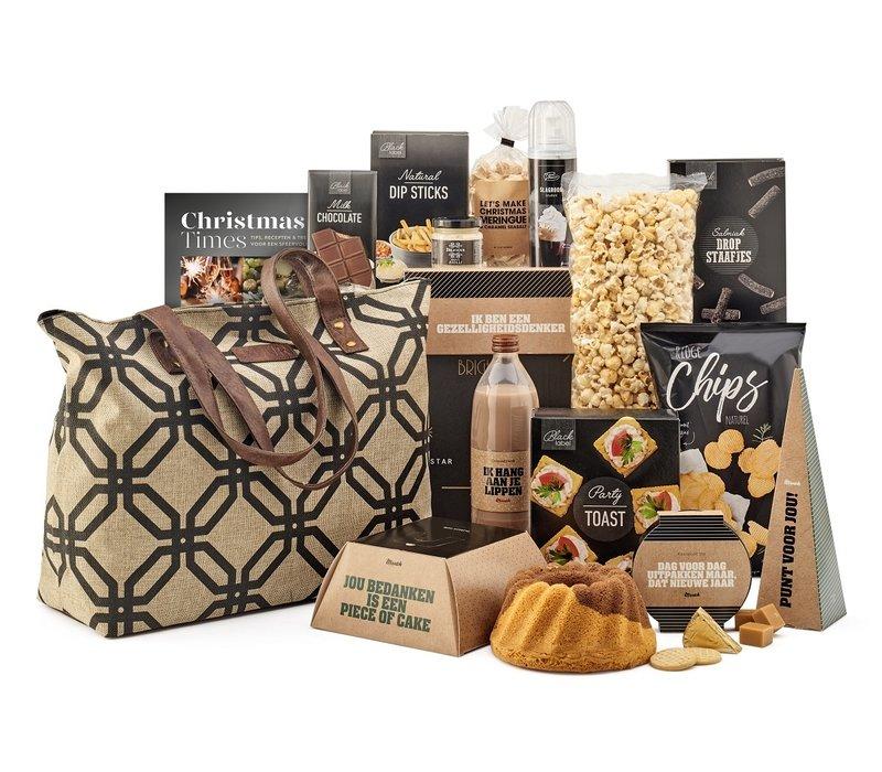 Kerstpakket Goedgevulde shopper - 21% BTW