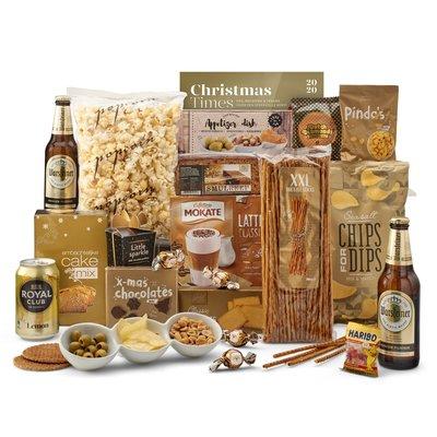 Kerstpakket Heerlijk gouds