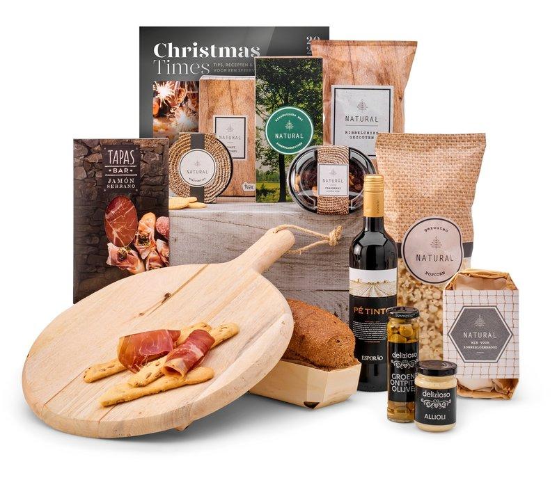 Kerstpakket Serve and enjoy