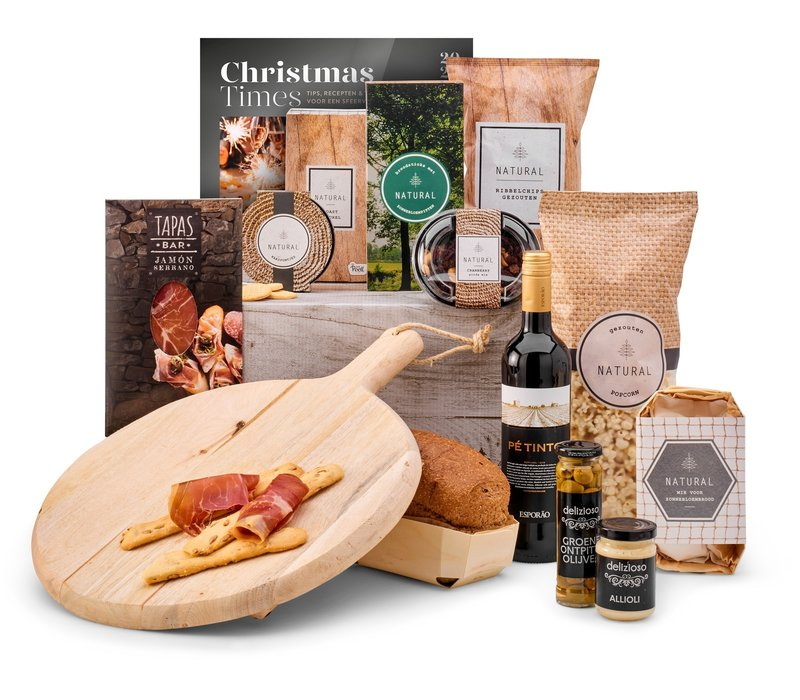 Kerstpakket Serve and enjoy - 9% BTW
