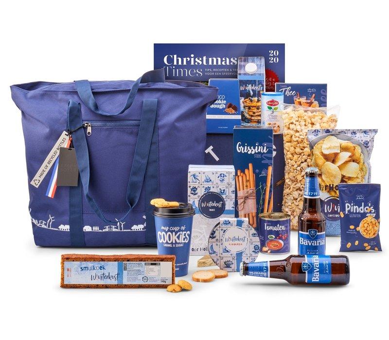 Kerstpakket Zalig blauw