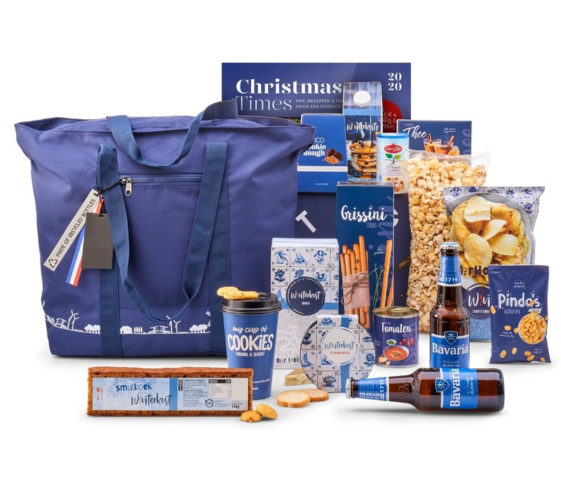 Kerstpakket Zalig blauw - 21% BTW