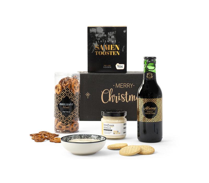 Kerstpakket Toost op jou - 21% BTW