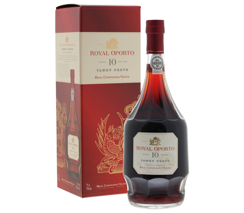Royal Oporto Tawny 10 years old in luxe doos