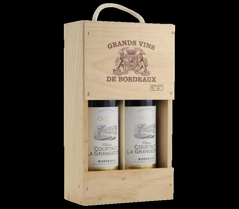 Bordeaux Selection Medailles 2 flessen in kist