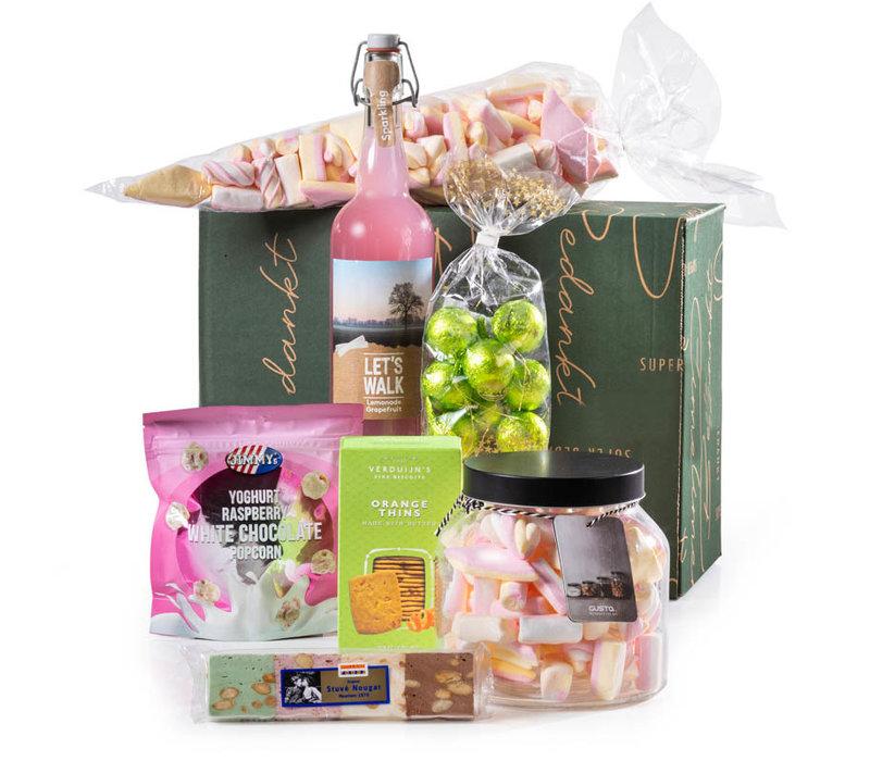 Kerstpakket Zoete Snoeppot - 9% BTW