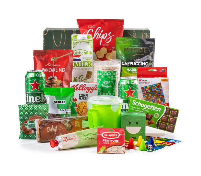 Kerstpakket Voor de Fam