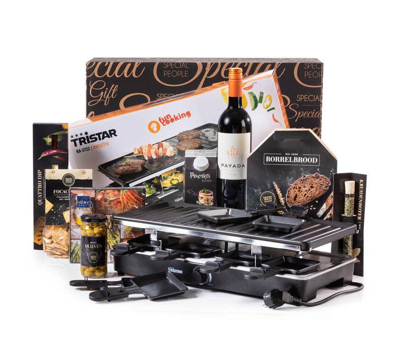 Kerstpakket Raclette Funcooking - 9% BTW