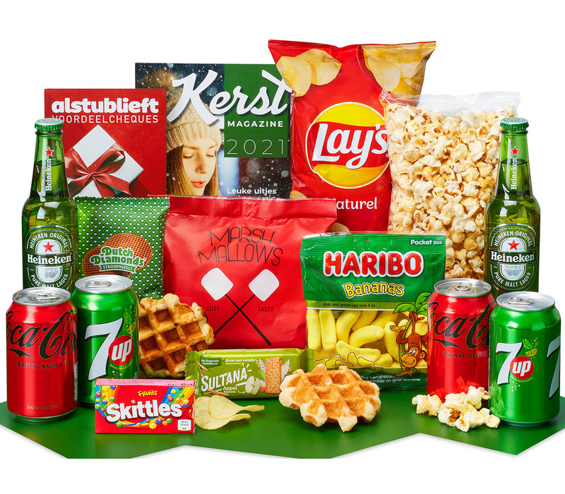 Kerstpakket Zoet moment - 9% BTW