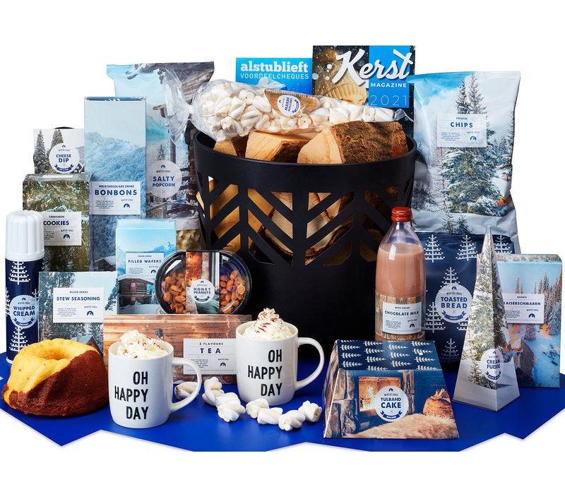 Kerstpakket Wintervuurtje  - 9% BTW