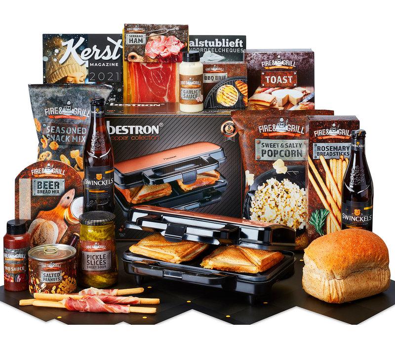 Kerstpakket Stevige Snacks - 9% BTW