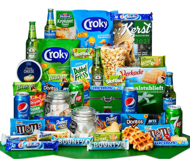 Kerstpakket Snackpot