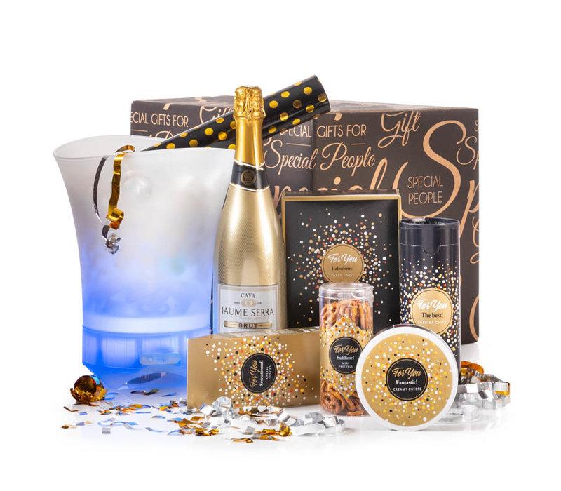 Kerstpakket Happy Senior Cooler - 21% BTW