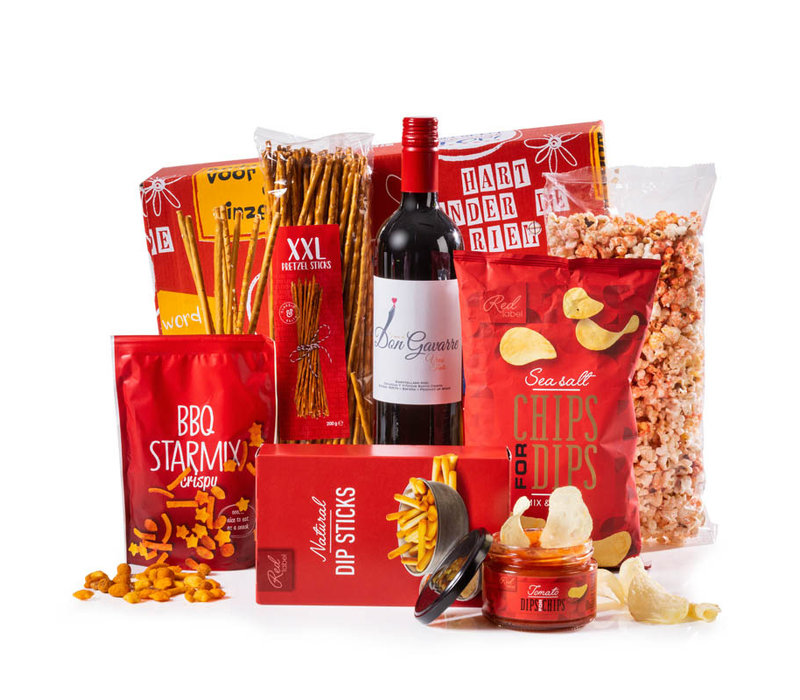 Kerstpakket Familie Rood - 9% BTW