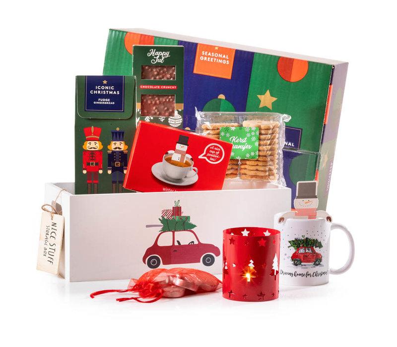 Kerstpakket Driving Home...