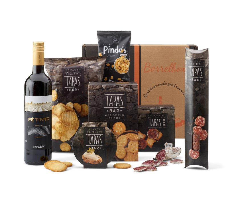 Kerstpakket Vino Y Tapas - 21% BTW