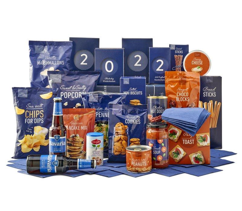 Kerstpakket Tasty blue - 9% BTW